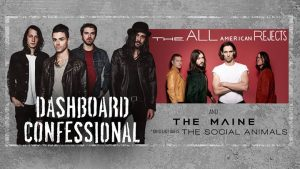 Show Review: Dashboard Confessional, The All-American Rejects, The Maine