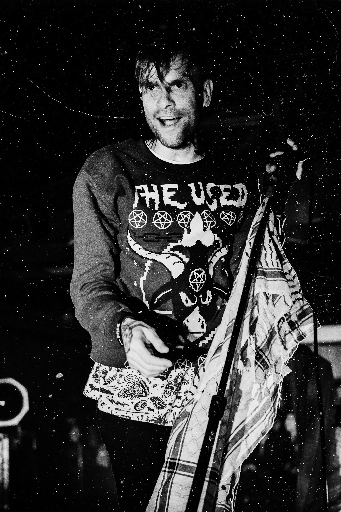 The Used Starland Ballroom Stars and Scars Photo