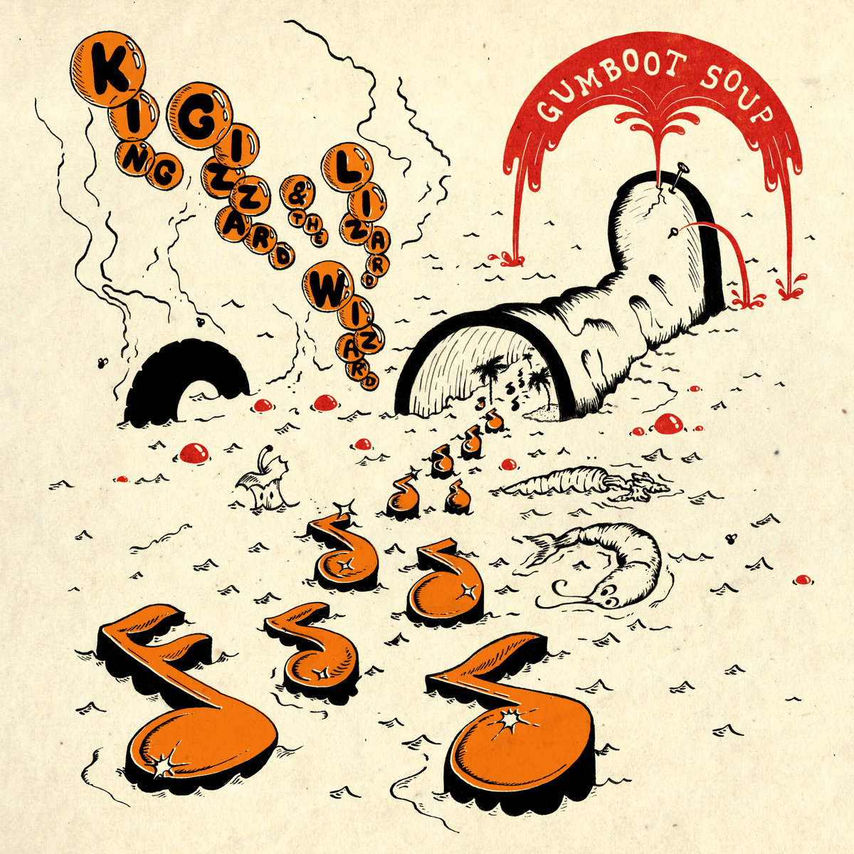 King Gizzard & the Lizard Wizard Gumboot Soup