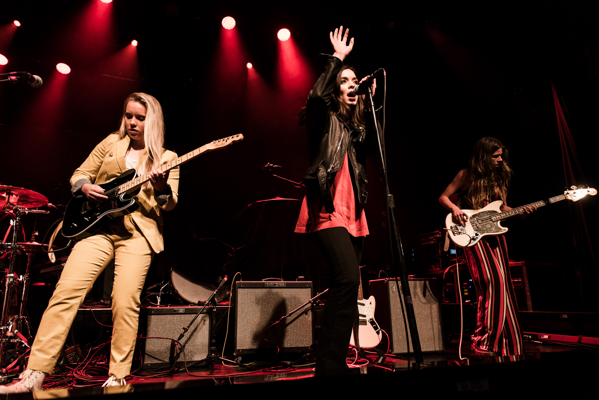 The Aces Irving Plaza Stars and Scars Photo