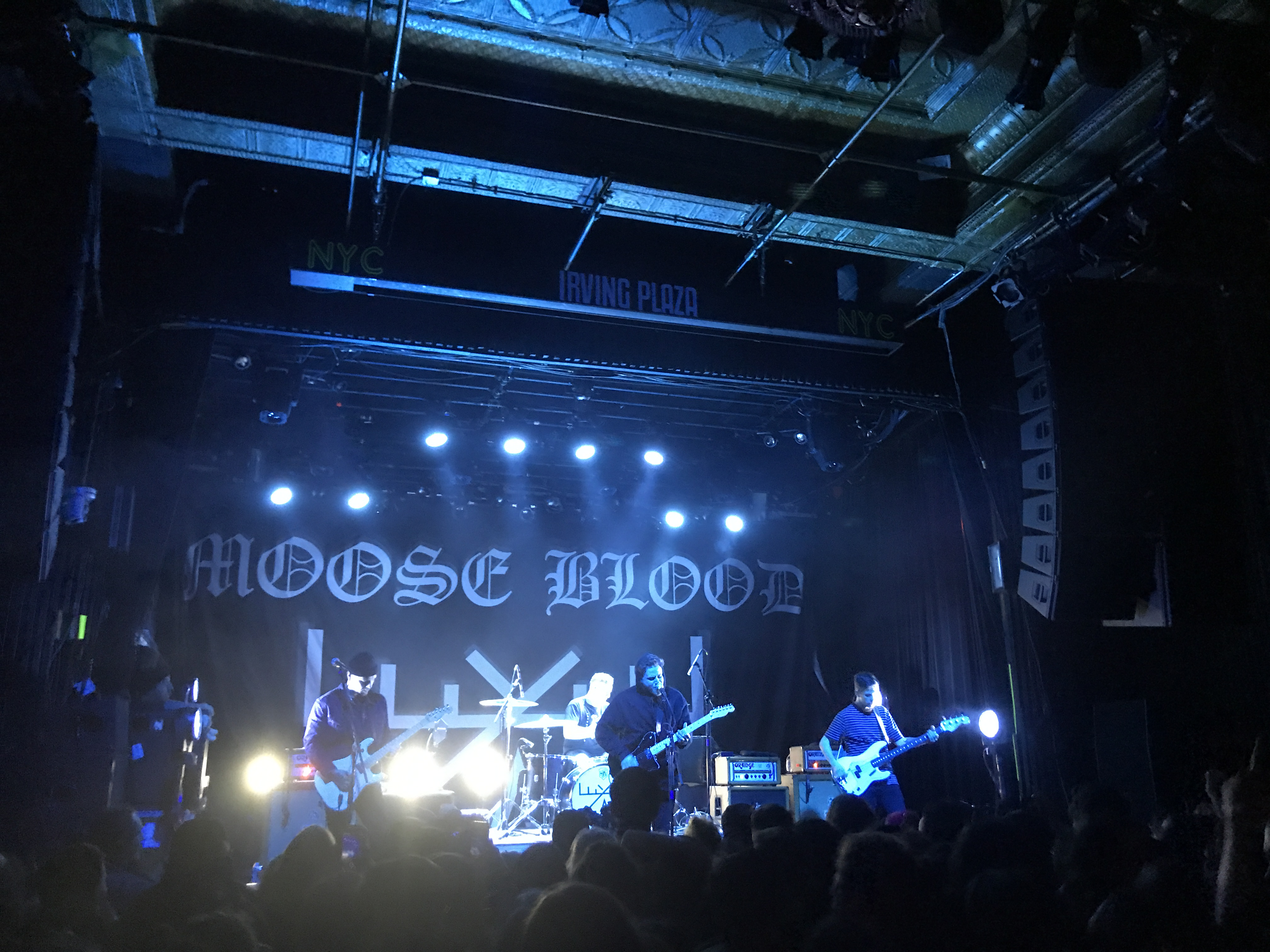 Moose Blood Irving Plaza
