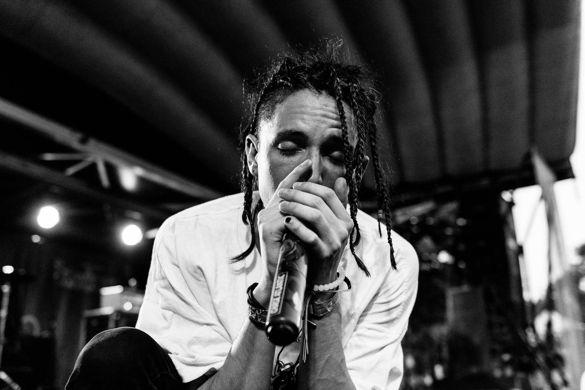Chase Atlantic Warped Tour 2018 PNC Bank Arts Center Holmdel NJ Stars and Scars Photo