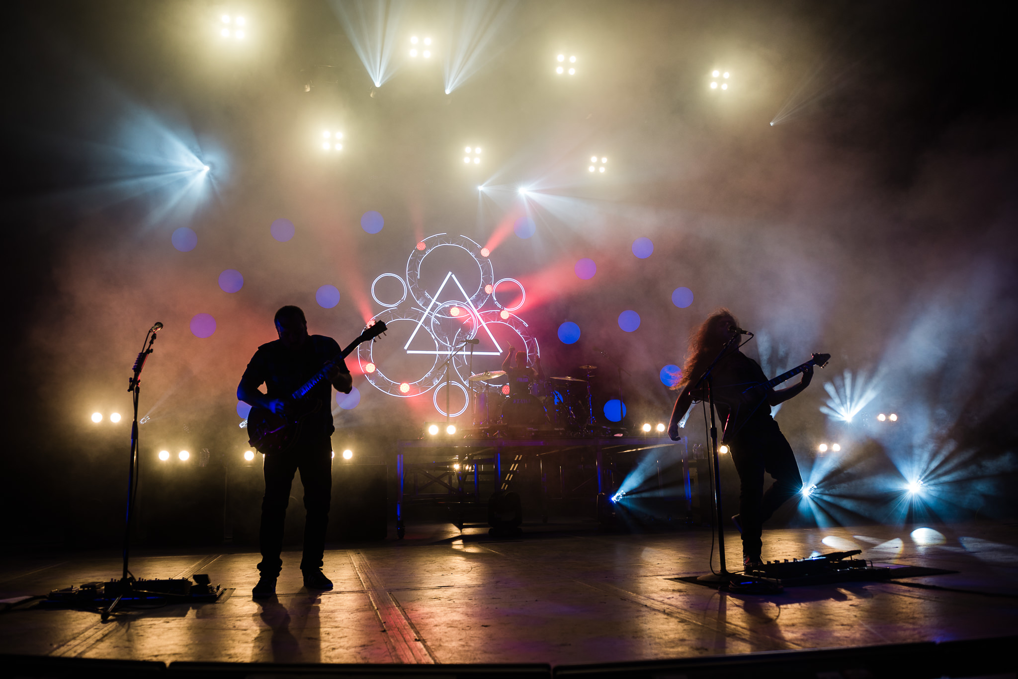 Coheed and Cambria PNC Bank Arts Center Stars and Scars Photo