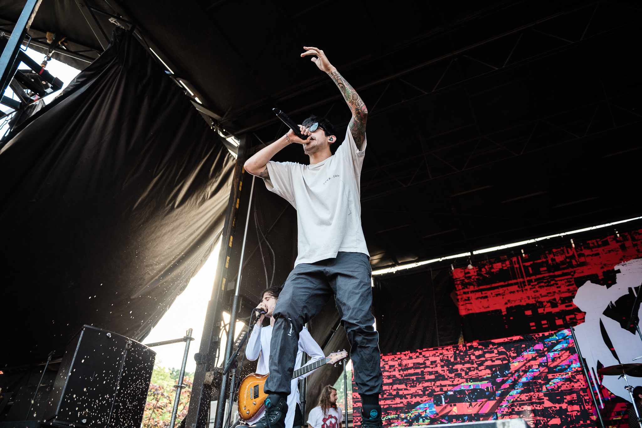 Crown the Empire Warped Tour 2018 PNC Bank Arts Center Holmdel NJ Stars and Scars Photo