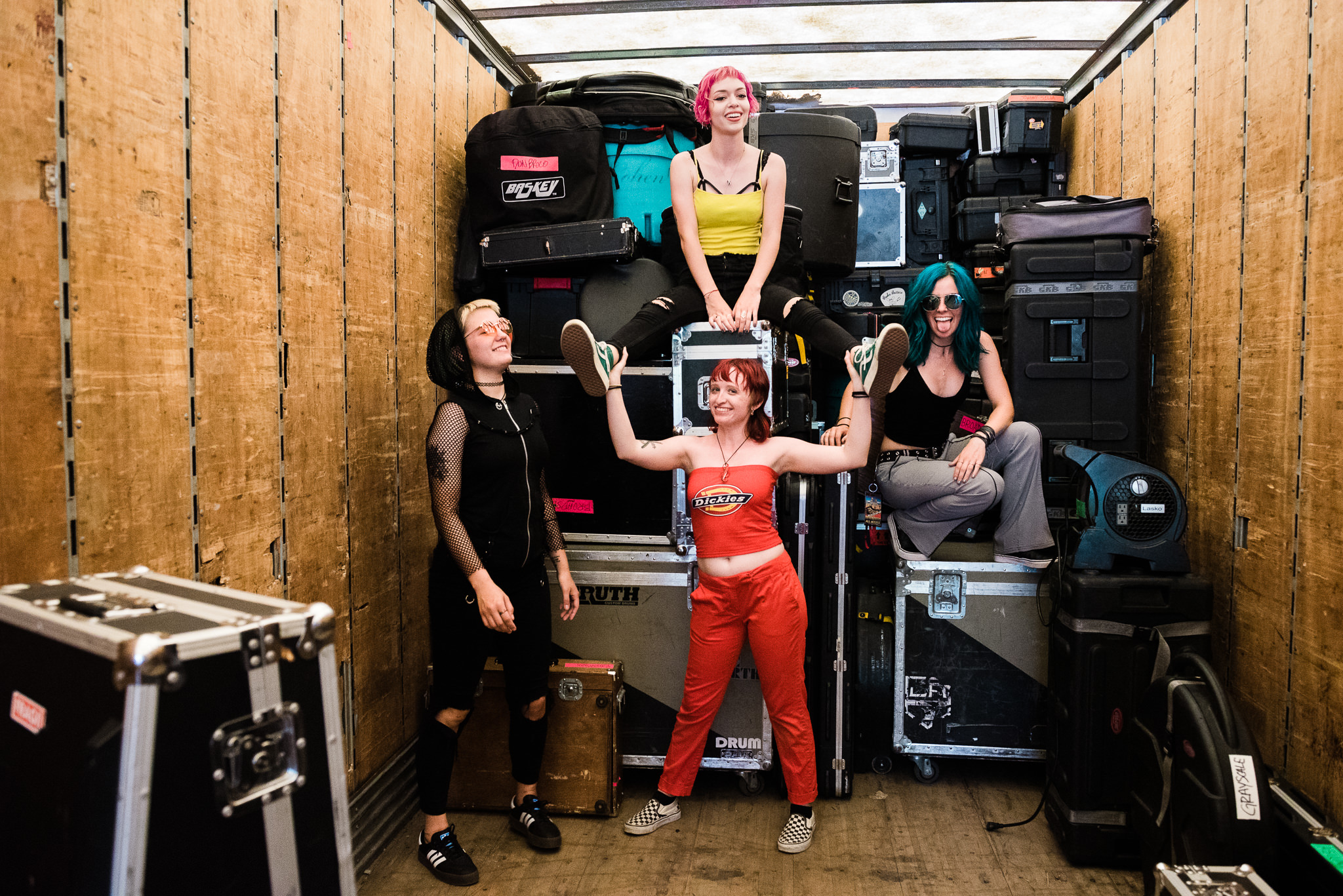 Doll Skin Warped Tour 2018 PNC Bank Arts Center Holmdel NJ Stars and Scars Photo