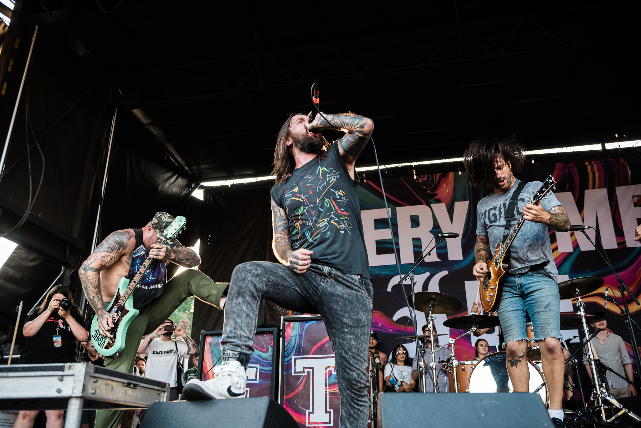 Every Time I Die Warped Tour 2018 PNC Bank Arts Center Holmdel NJ Stars and Scars Photo