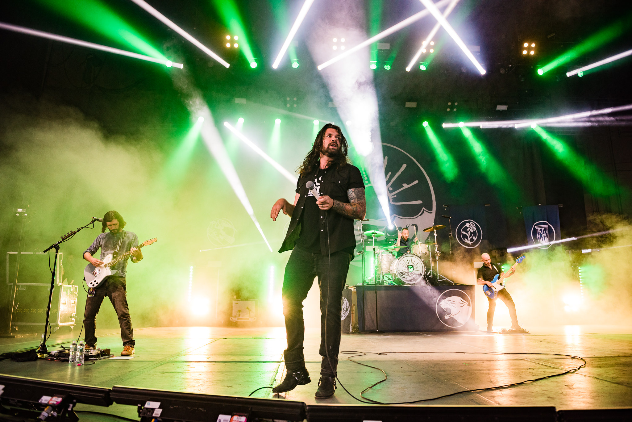 Taking Back Sunday PNC Bank Arts Center Stars and Scars Photo