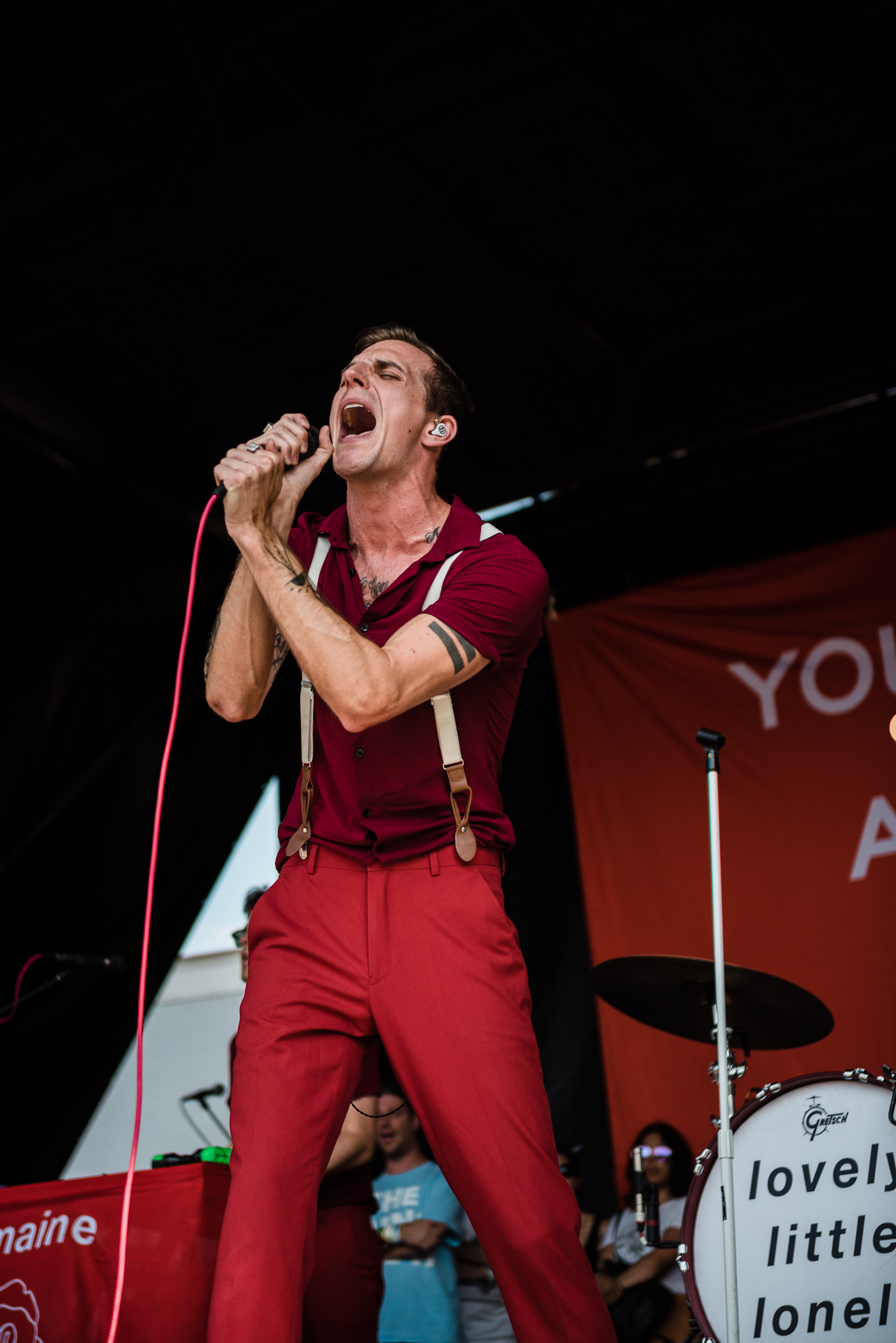 The Maine Warped Tour 2018 PNC Bank Arts Center Holmdel NJ Stars and Scars Photo