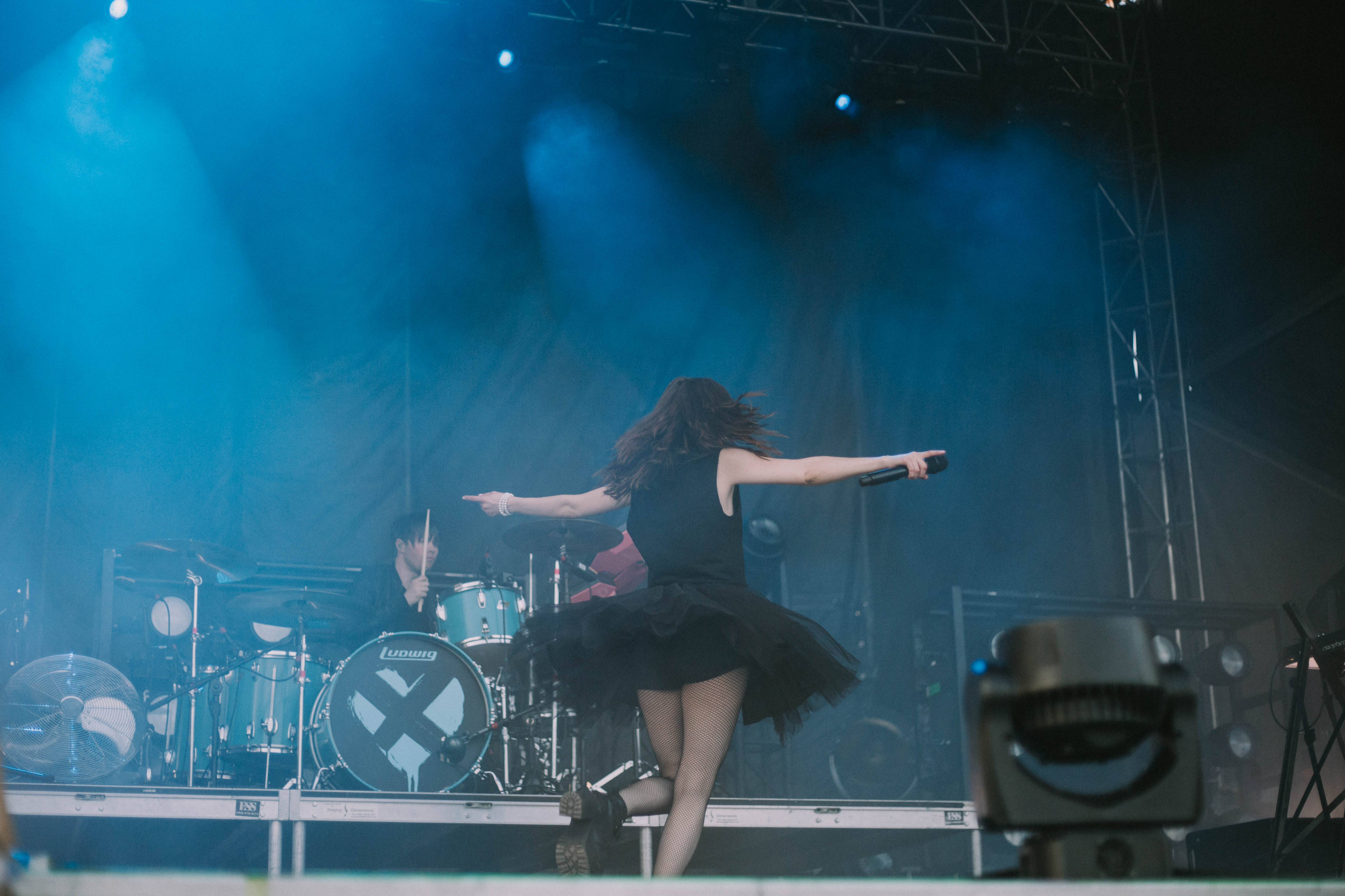 Chvrches Hinterland Music Festival