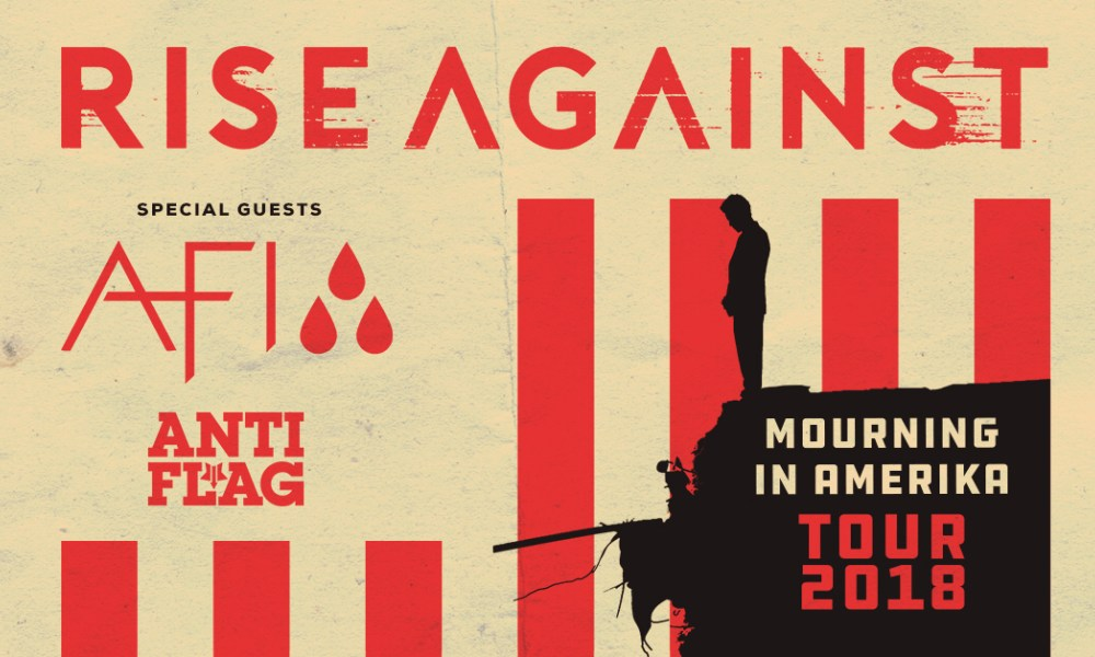 Rise Against AFI AntiFlag Stone Pony