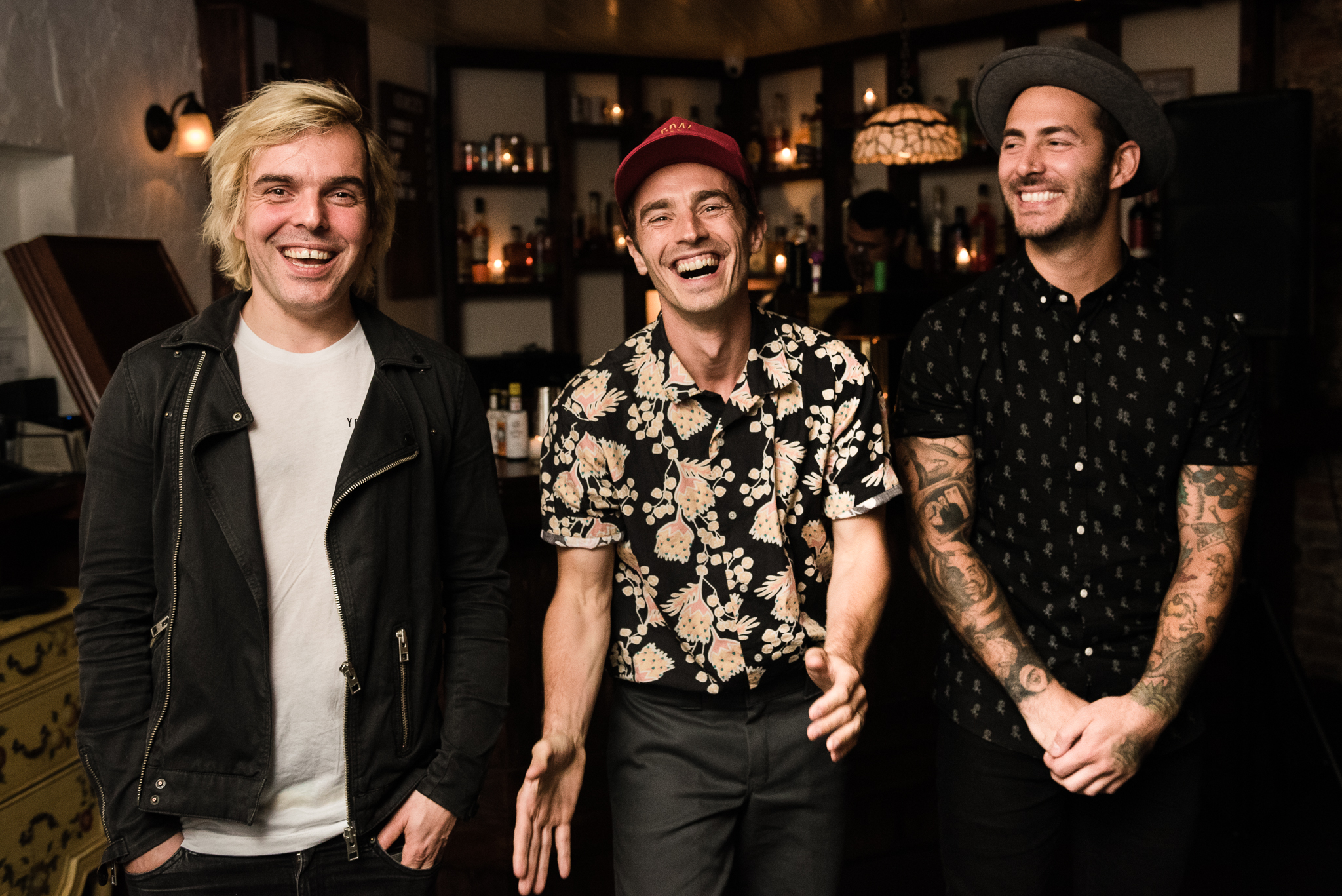 New Politics Stars and Scars Photo Grace's NYC secret show