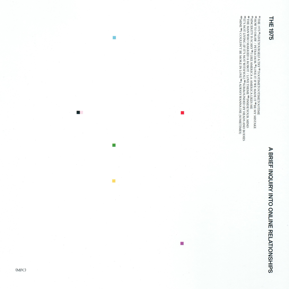 1 The 1975 - A Brief Inquiry Into Online Relationships