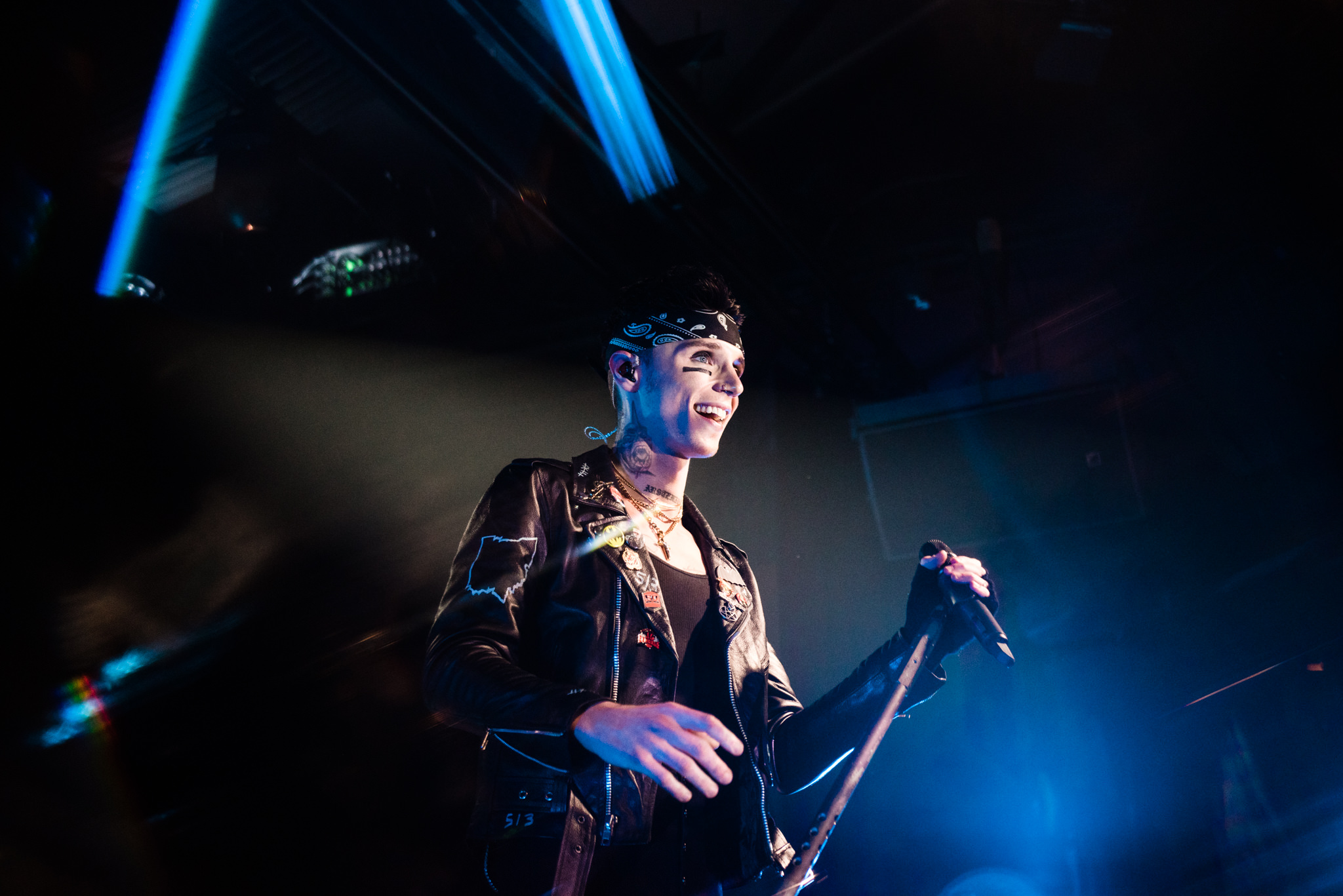 Andy Black Asbury Lanes Stars and Scars Photo