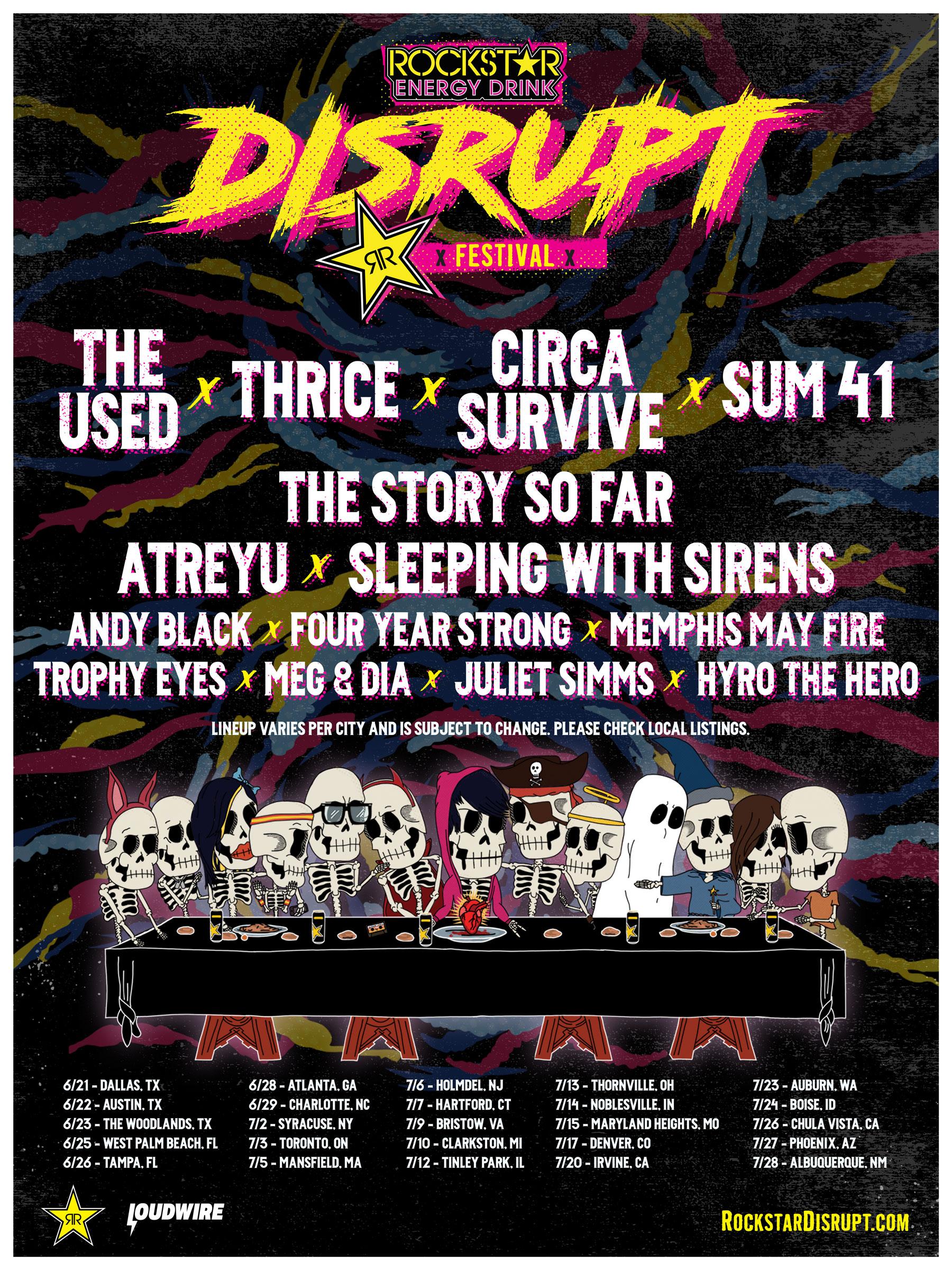 DISRUPT Festival flyer