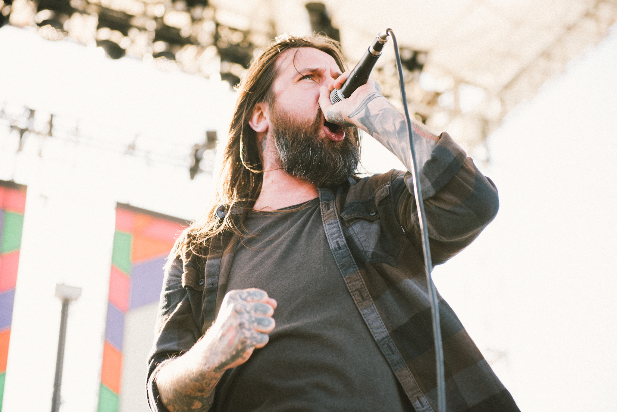 Every Time I Die Stone Pony Summer Stage Stars and Scars Photo