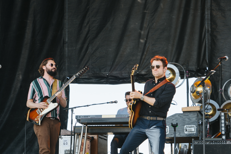 Dawes Avenue of the Saints Amphitheater Hinterland Music Festival