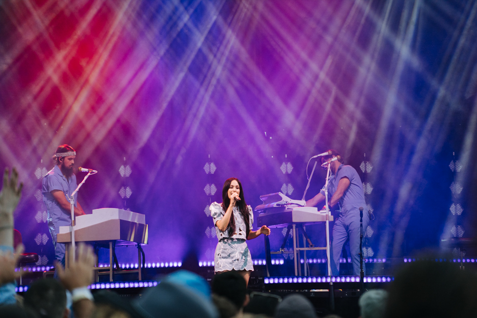 Kacey Musgraves Avenue of the Saints Amphitheater Hinterland Music Festival