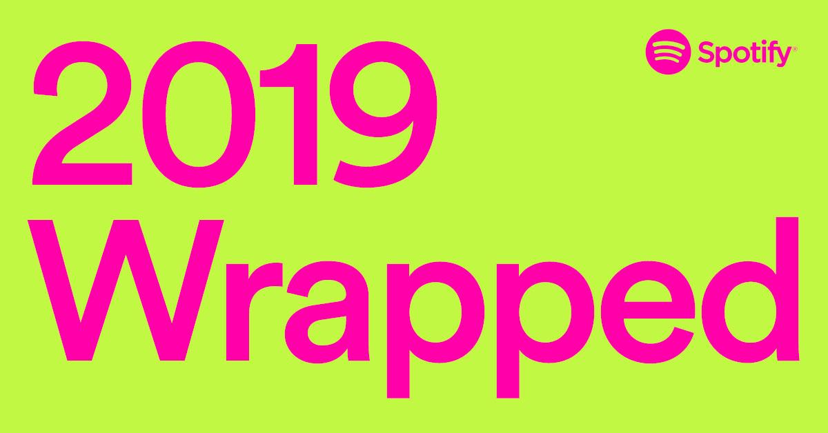 Spotify Wrapped 2019