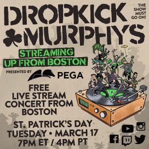 Dropkick Murphys - Streaming Up From Boston